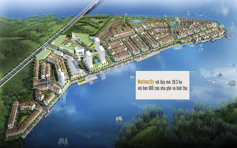 Tổng thể dự án marine city